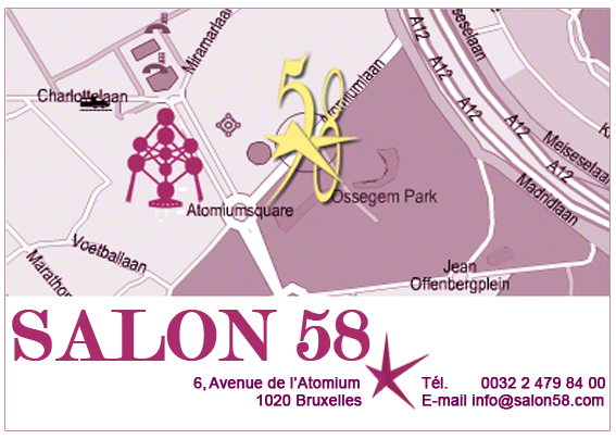 Location de salles Bruxelles avec Parking - Salon 58 Brussels
